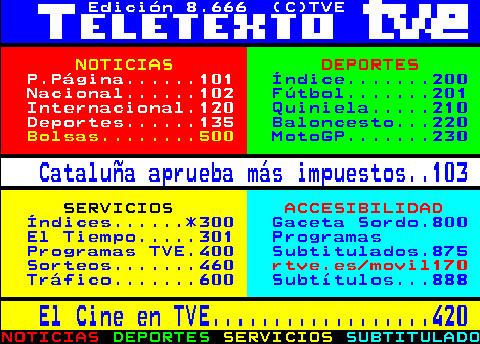 TELETEXTO-TVE