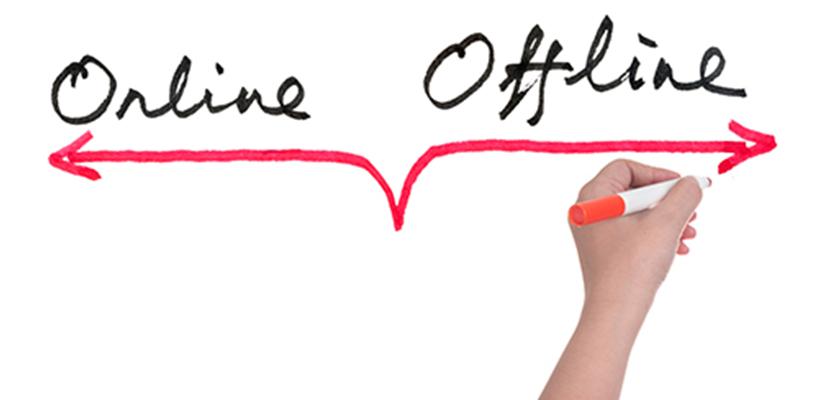 La clave del éxito reside en aprender a sincronizar comunicación online y offline.