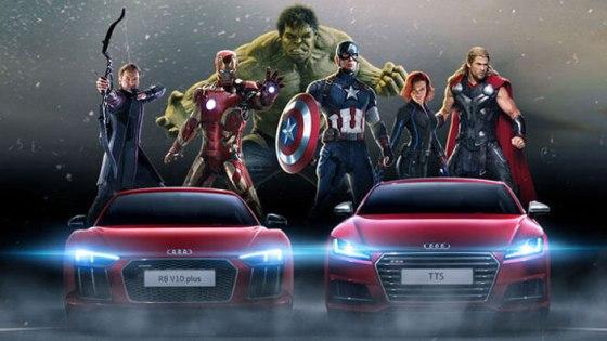 Audi_Los Vengadores